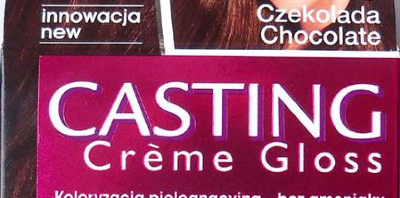 L'Oreal, Casting Cream Gloss, nr 535, czekolada
