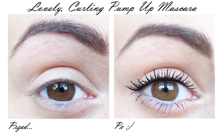 Curling pump up mascara lovely – Your modern make-up baby
