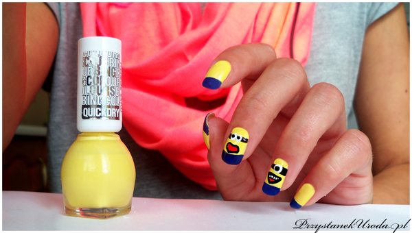 bajkowy manicure