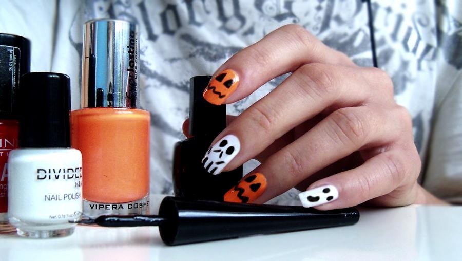 paznokcie halloween 2