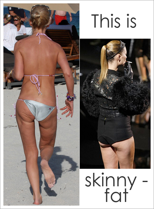 Fat Women Vs Skinny 4