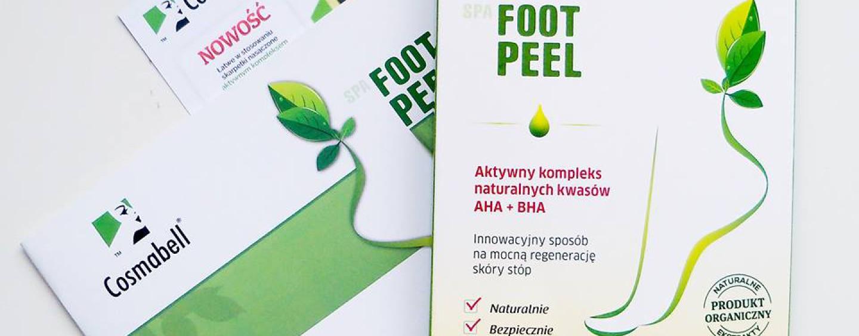 Cosmabell, Foot Peel – intensywny zabieg złuszczający do stóp