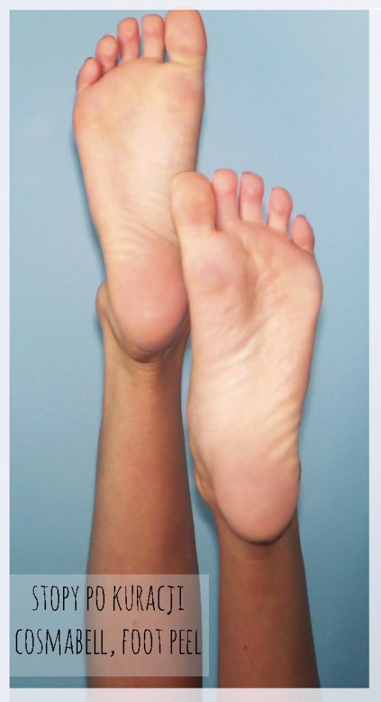 stopy po cosmabell foot peel