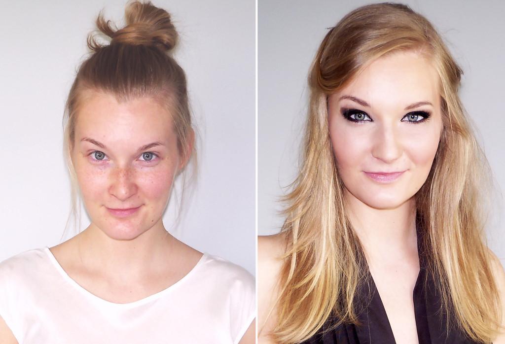 przed i w makijazu 2