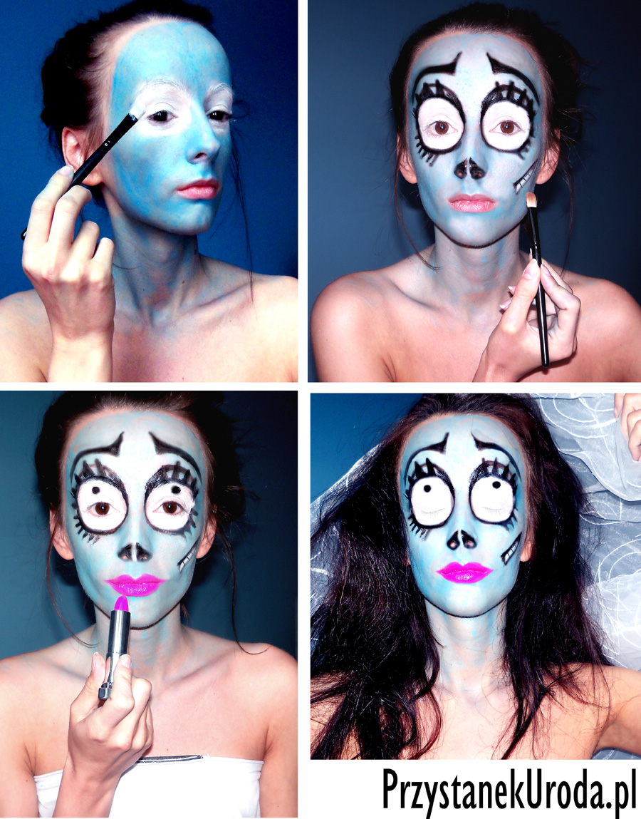 gnijąca panna młoda makijaż