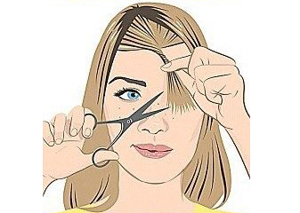 Jak Samodzielnie Obciąć Grzywkę Blog O Urodzie Blog Kosmetyki