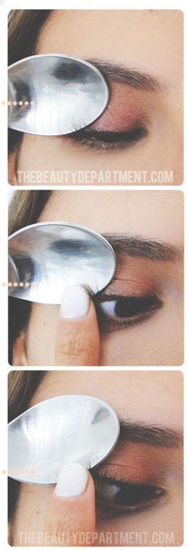 łyżka makijaż 2