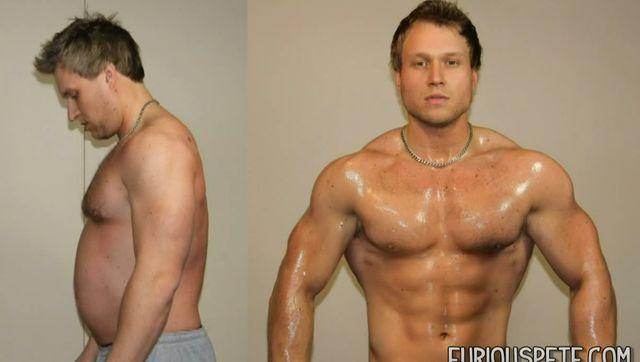 przed i po ćwiczenia