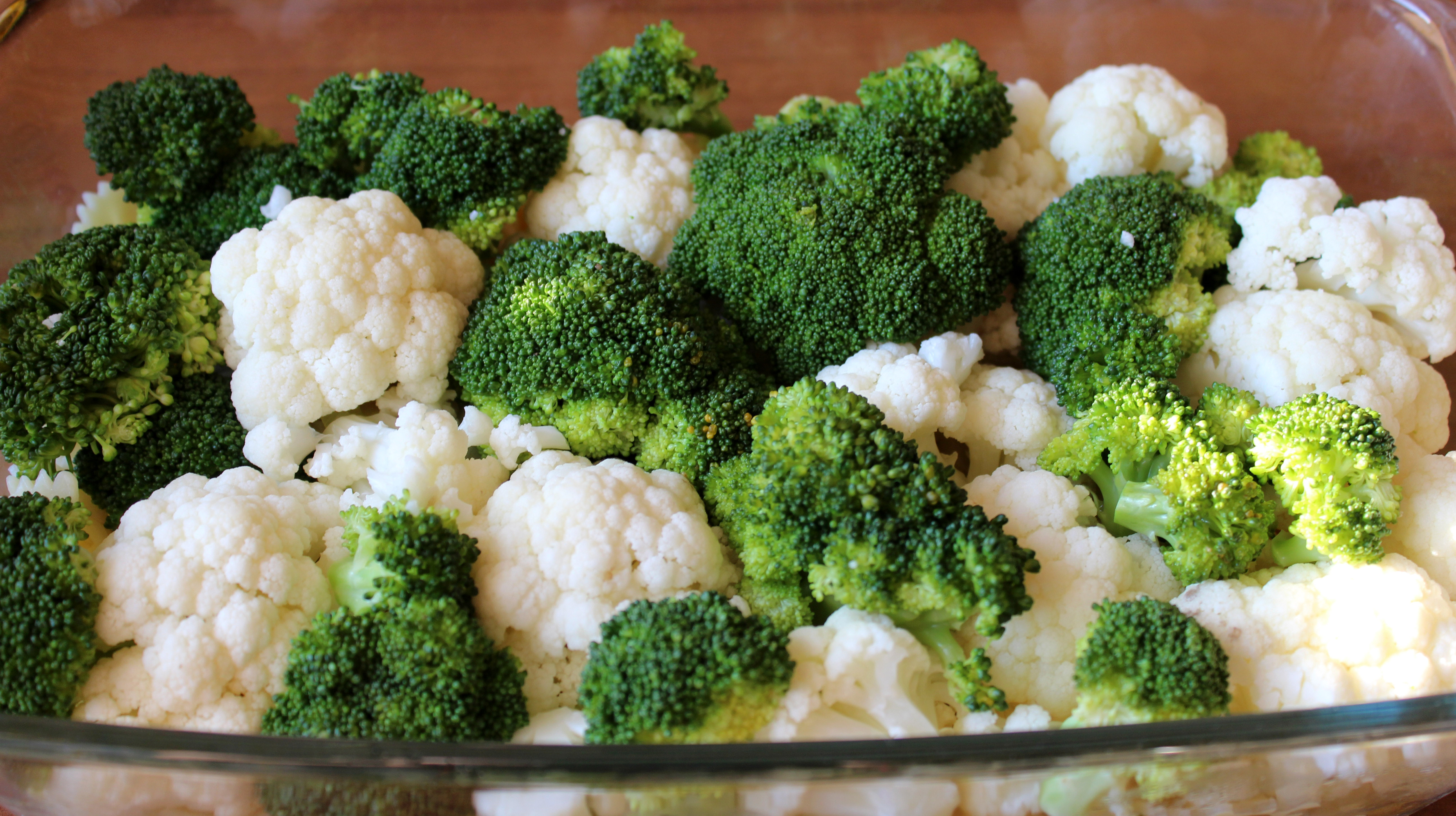 obiad kalafior brokuły