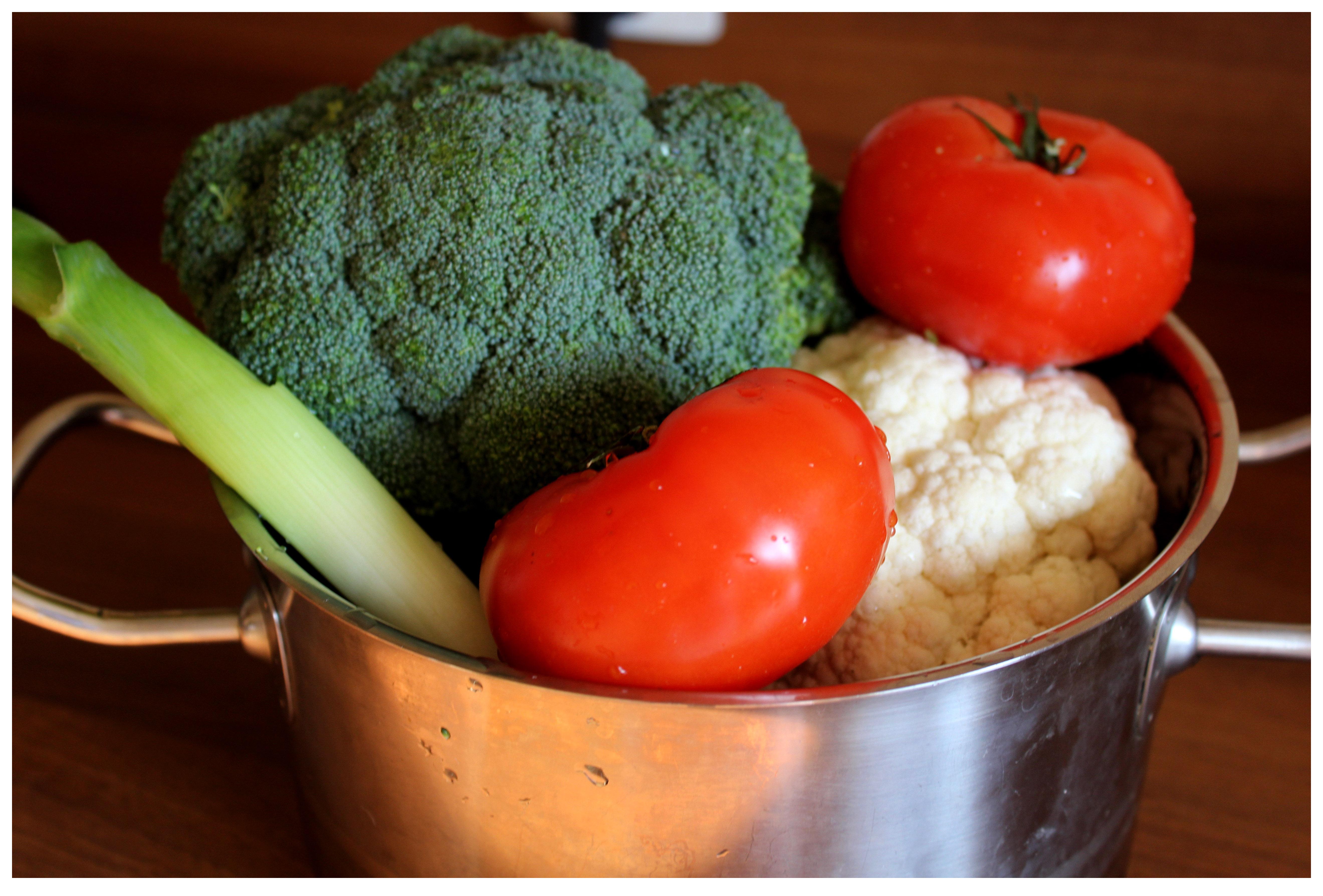 warzywa obiad