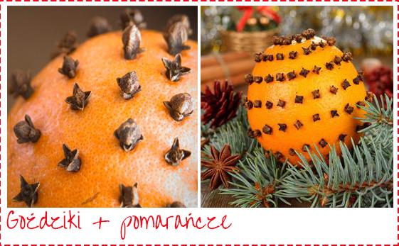 goździki i pomarańcze zapach