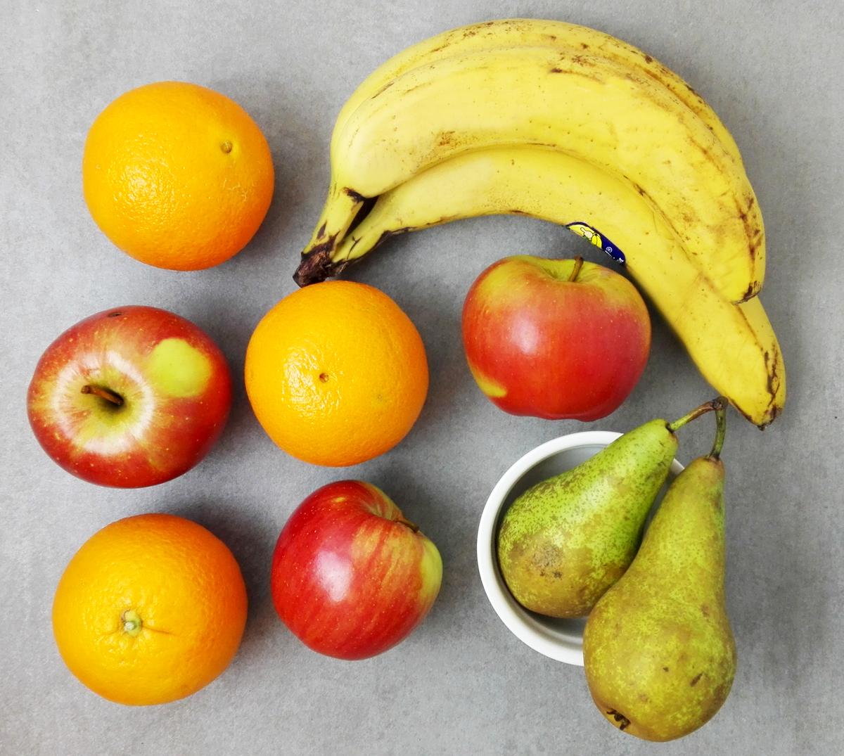 owoce zdrowie soki
