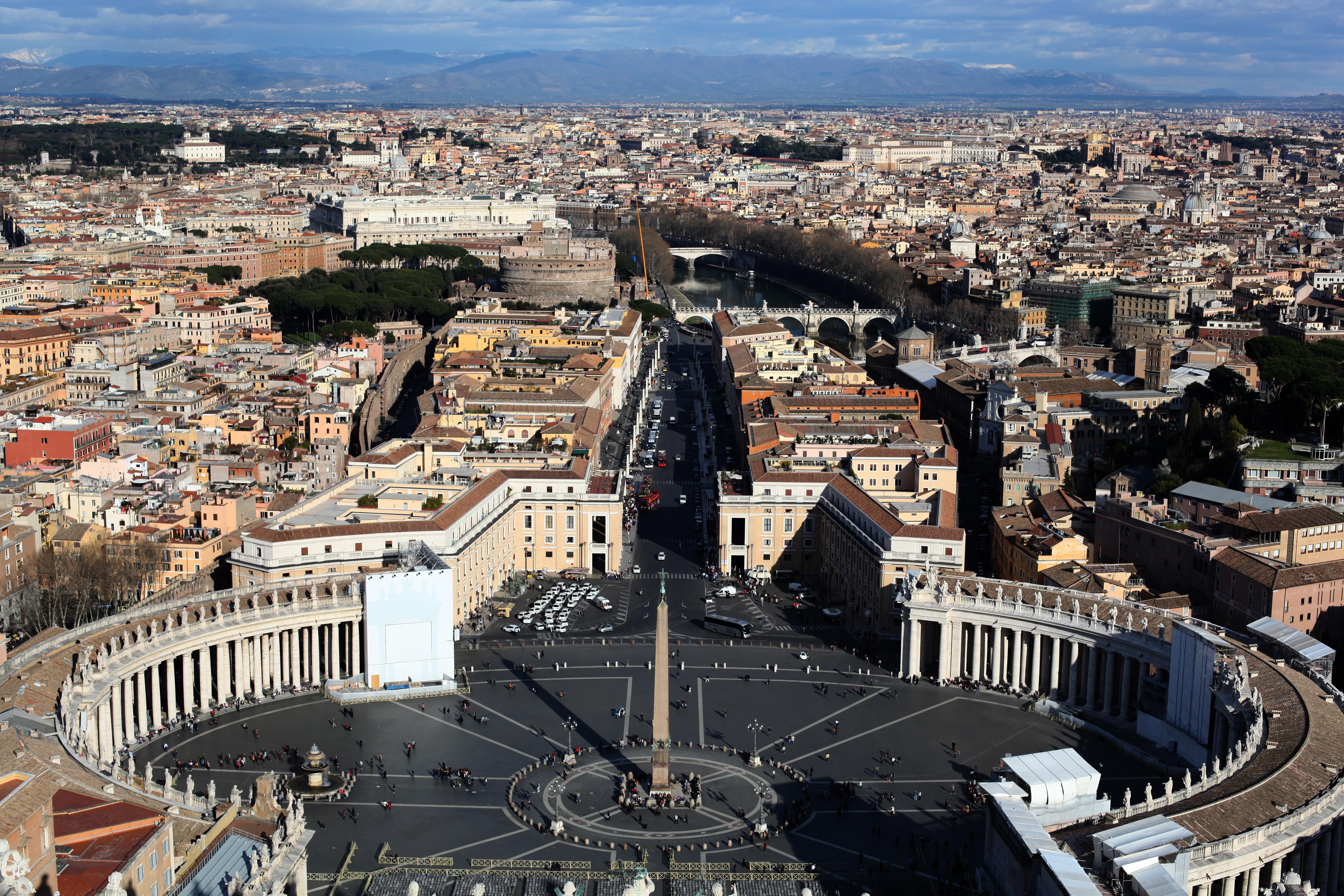Kupuła św. Piotra widok