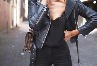 Skórzana ramoneska – jak nosić?