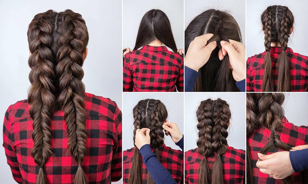 łatwe fryzury dla długich włosów